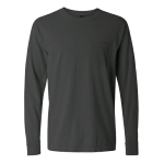 Pepper Long Sleeve Heavyweight Cotton Pocket Tee