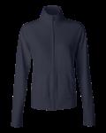 Navy Bella - Ladies' Cotton/Spandex Cadet Jacket