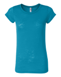 Aqua Bella - Ladies' Bernadette Burnout T-Shirt
