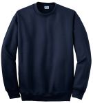 Navy Gildan DryBlend Crewneck Sweatshirt