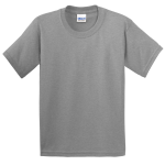 Sport Grey Gildan Youth Ultra Cotton 100% Cotton T-Shirt