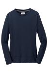 Navy Anvil Ladies French Terry Crewneck Sweatshirt