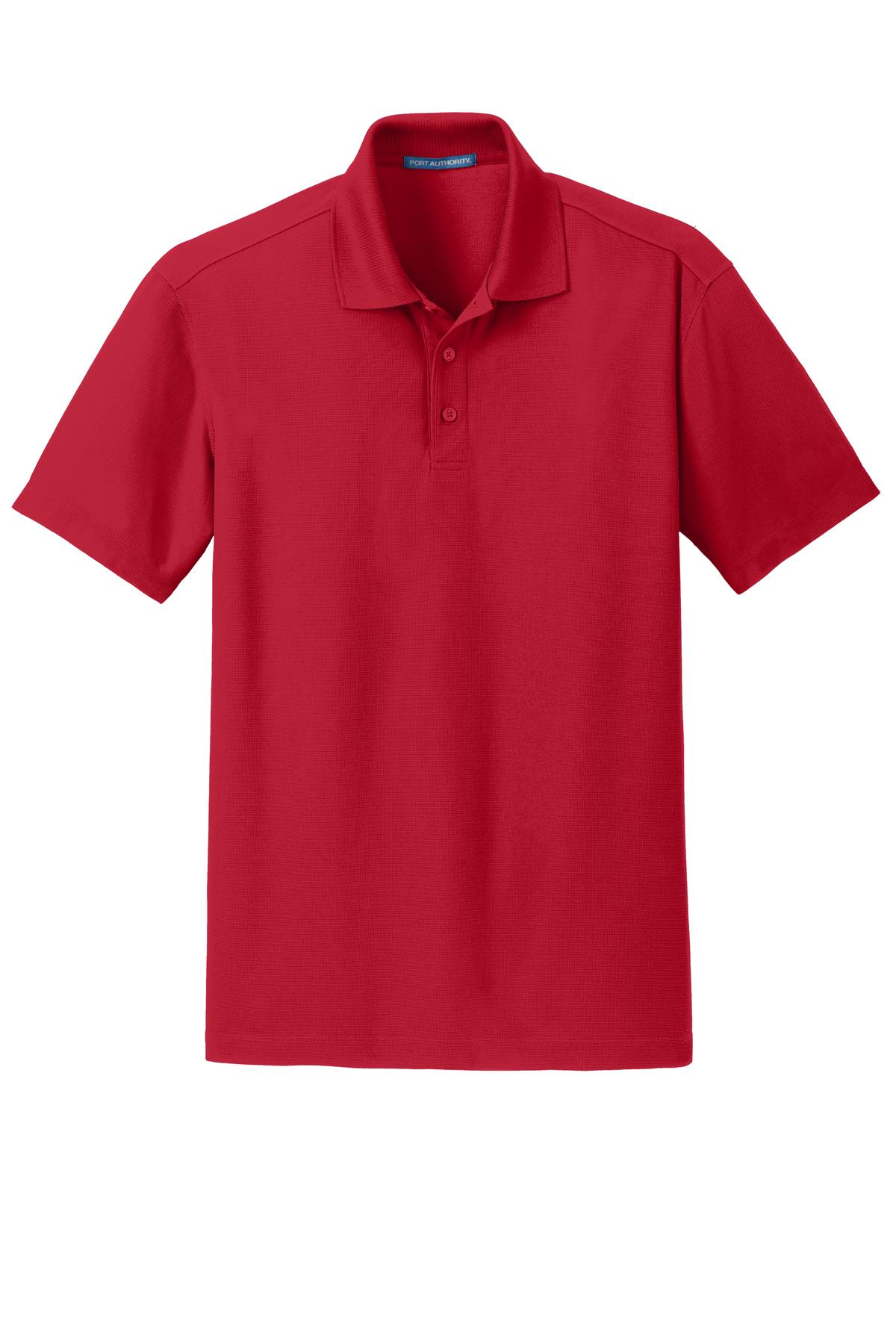 00d55a28 Rhodes - Product: Rhodes Logo Men's Port Authority Dry Zone Grid Polo