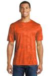 Neon Orange Sport-Tek CamoHex Tee