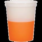Orange 16 Oz. Color Changing Stadium Cup