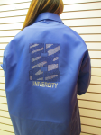 Blue Hampton University Bling Jacket