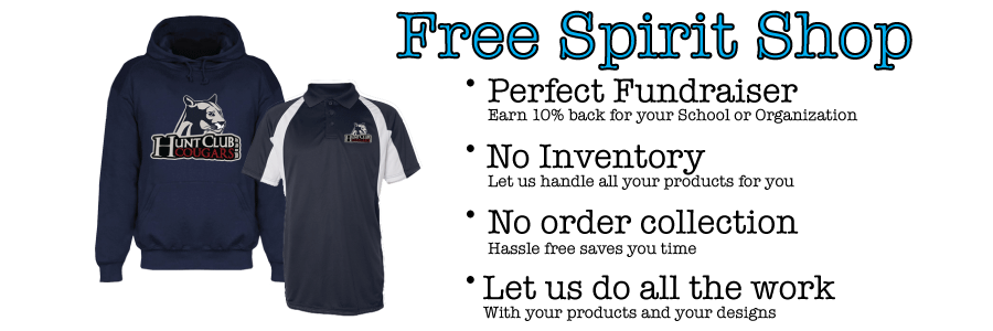 Spirit Wear Ads