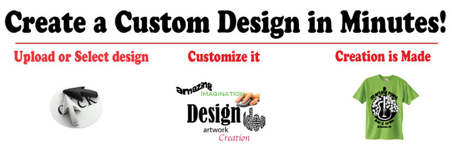 create a custom design in mutes