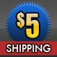 5$ Shipping
