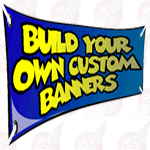 3' Height Custom Banners