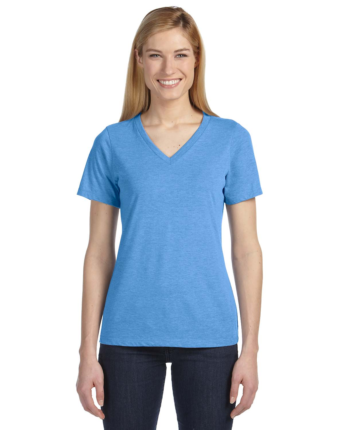 61579748 Easton Fire Fundraiser - Product: Ladies' Relaxed Jersey Short-Sleeve V-Neck  T-Shirt