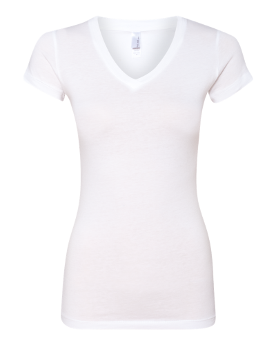 a4ea4209 Next Level Ladies' Sporty V-Neck T-Shirt White
