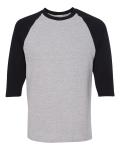Sport Grey Black Maricopa Little League Cotton Baseball T-Shirt
