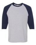Sport Grey Navy Maricopa Little League Cotton Baseball T-Shirt