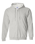Ash Full Zip Hooded Sweatshirt