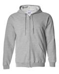Sport Grey Maricopa Little League Adult Full Zip Hooded Sweatshirt