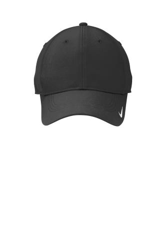 455cff5d6dc Black Black Nike Golf Swoosh Legacy 91 Cap Black Black