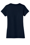 Ladies Perfect Weight V-Neck Tee Back