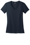 New Navy Ladies Perfect Weight V-Neck Tee