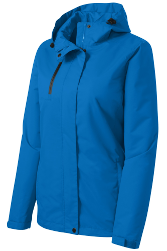 3f5b1b74a2b Black Port Authority Ladies All-Conditions Jacket Direct Blue