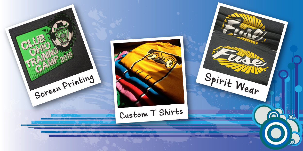 Screen Printing | Embroidery | Custom T Shirts | Dayton